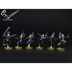 Harlequin Troupe (6 figures)