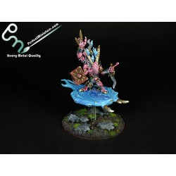 Chaos Daemons Herald of Tzeentch on Disc (1 figure)