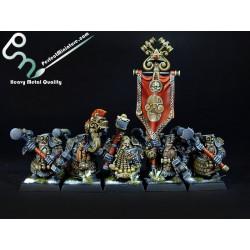 Dwarf Hammerers / Longbeards (10 figures)