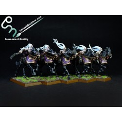 Dark Elf Doomfire Warlocks / Dark Riders (5 figures)