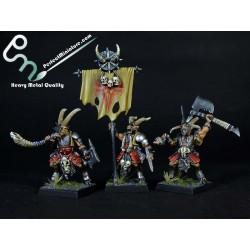 Beastmen Bestigor Herd (10 figures)
