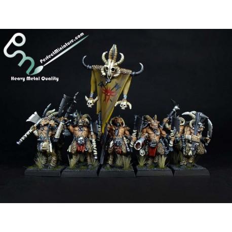 Beastmen Gor Herd (10 figures)