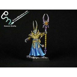 Warriors of Chaos Tzeentch Sorcerer Lord (1 figure)