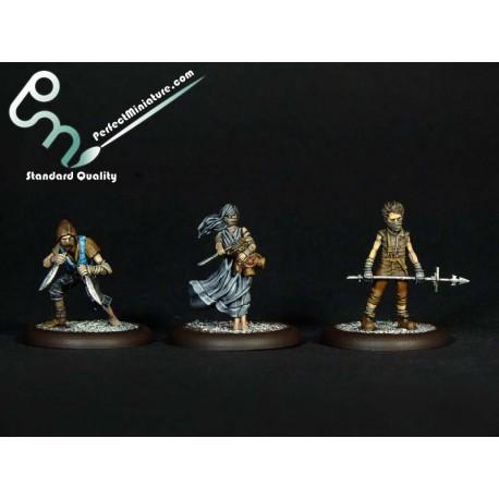 Crooligans (3 miniatures)