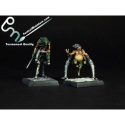 Necropunks (3 miniatures)