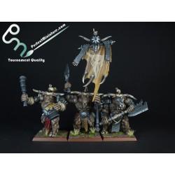 Warherds Bullgors (3 miniatures)