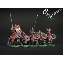 Soulblight Blood Knights (5 miniatures)