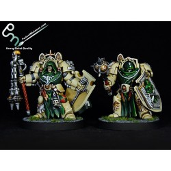 Dark Angels Deathwing Command Squad / Knights / Terminators (5 figures)