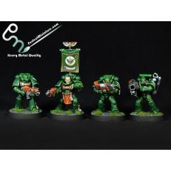 Space Marine Tactical Squad (10 figures)