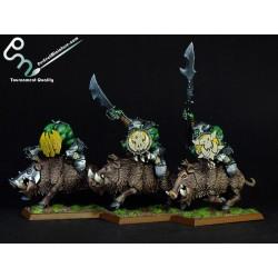 Greenskinz Orruk Boarboys (5 miniatures)