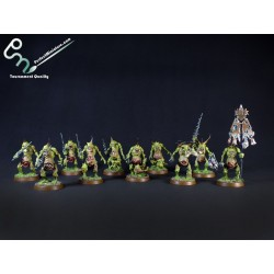 Chaos Daemons Plaguebearers of Nurgle (10 figures)