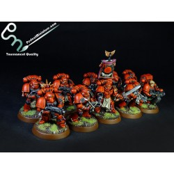 Blood Angels Tactical Squad (10 figures)