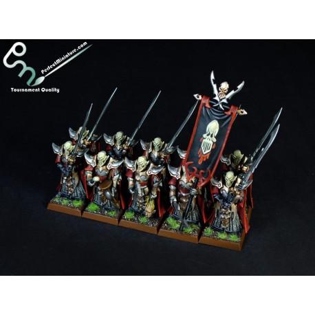 Dark Elf Executioners / Black Guard (10 figures)