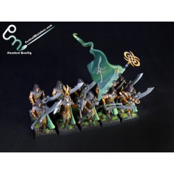 Wood Elf Wildwood Rangers / Eternal Guard (10 figures)