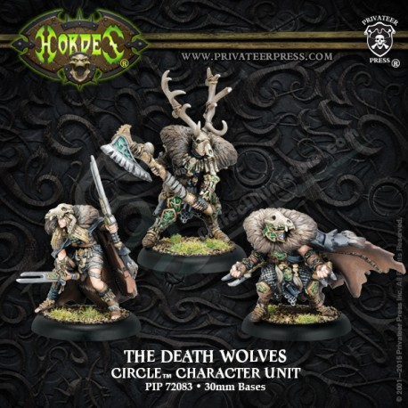 The Death Wolves (3 miniatures)