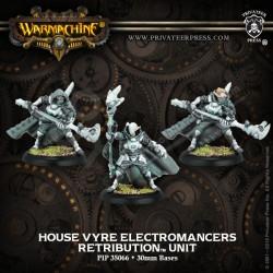 House Vyre Electromancers (3 miniatures)