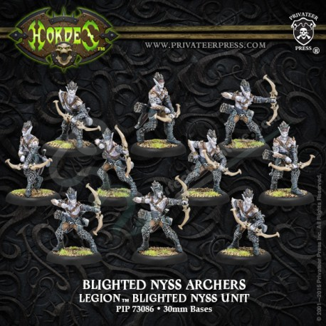 Blighted Nyss Swordsmen / Archers (10 miniatures)