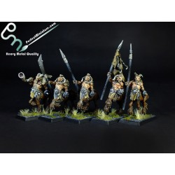 Monsters of Chaos Centigors (5 miniatures)