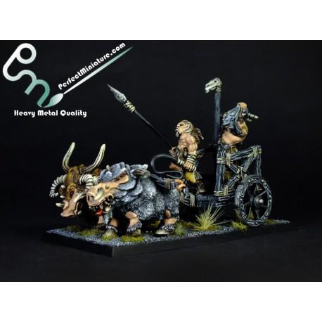 Beastmen Tuskgor Chariot (1 set)